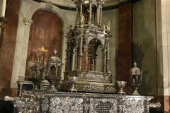 The altar, Cadiz Cathedral