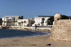 Caleta beach, Cadiz