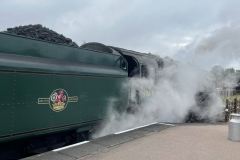 Steam train - City of Leicester
