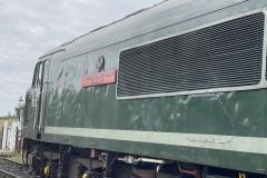 Old BR Diesel train